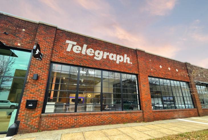 Telegraph Creative Location Photo