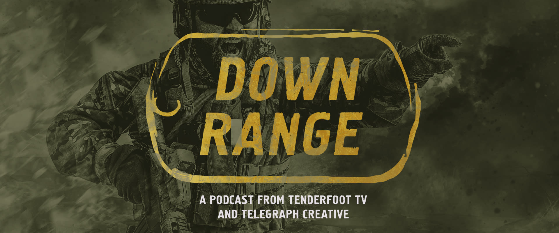 """Telegraph Creative teams up with Podcast Juggernaut Tenderfoot TV to produce """"Down Range"""""""