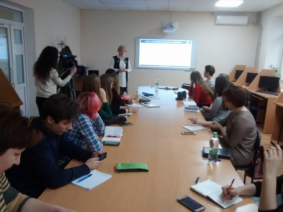 Воркшоп і лекції із фотограмотності у ЗНУ