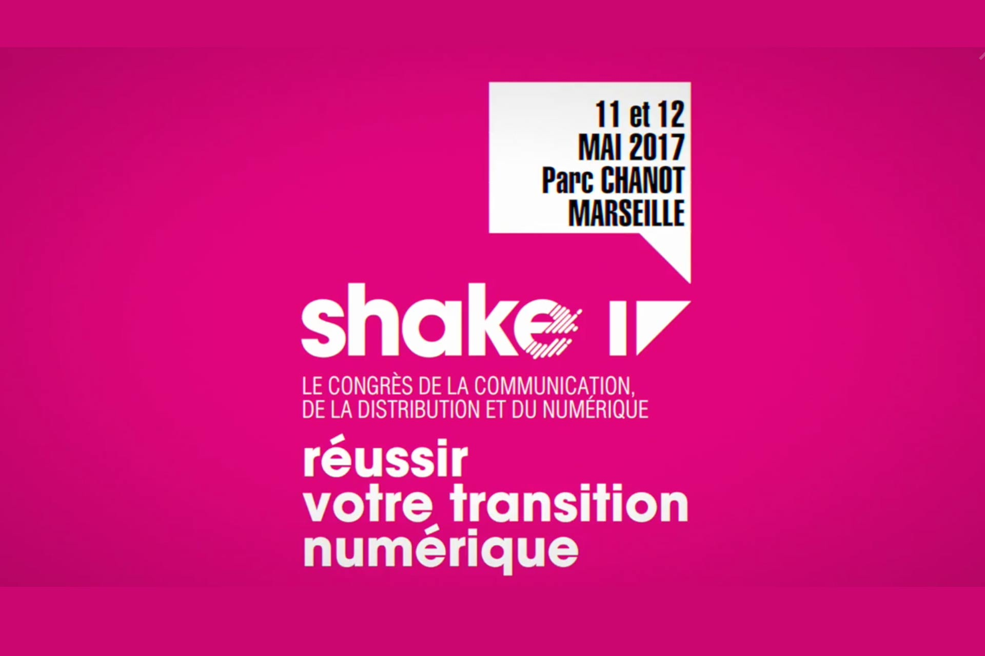 #SUPDEWEB Marseille, l'école web partenaire du Shake 2017