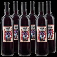 6-Pack 2014 Meh Zinfandel Blend Wines