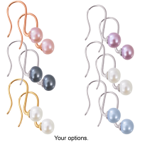 3-Pack: Honora Pearl Earrings (Multiple Colors)