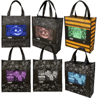 Deals on 6-Pack: Pop Lights Halloween Treat Bags with LED Lights