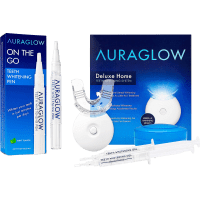 Deals on AuraGlow Teeth Whitening Kit & Whitening Pen