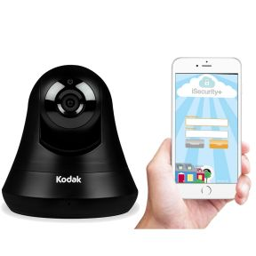 Kodak HD WiFi Security Camera with Pan/Tilt, Two-Way Audio, Night Vision