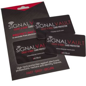 4-Pack: SignalVault RFID Blocking Cards