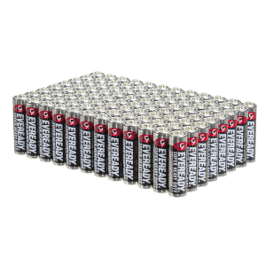 96-Pack Eveready AA SHD Batteries