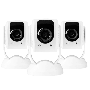 3-Pack Tend Insights Lynx Indoor 1080p HD Security Camera