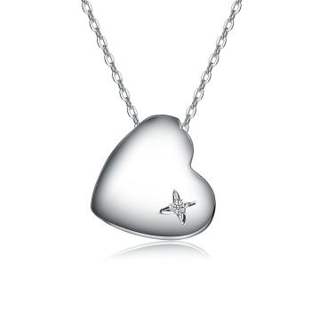 Relaveno Diamond Heart Pendant