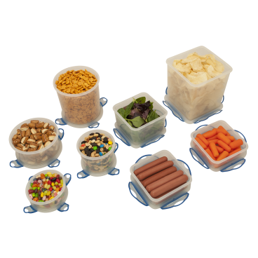 Hefty 16 Piece Clip Fresh Storage Containers 467 Cups