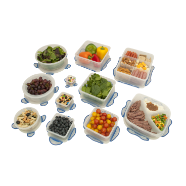 Hefty 24 Piece Clip Fresh Storage Containers 693 Cups