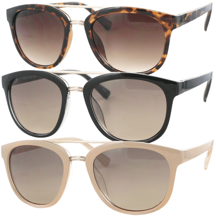 c07b2367e2a Jones New York Ludlow Wayfarer Sunglasses