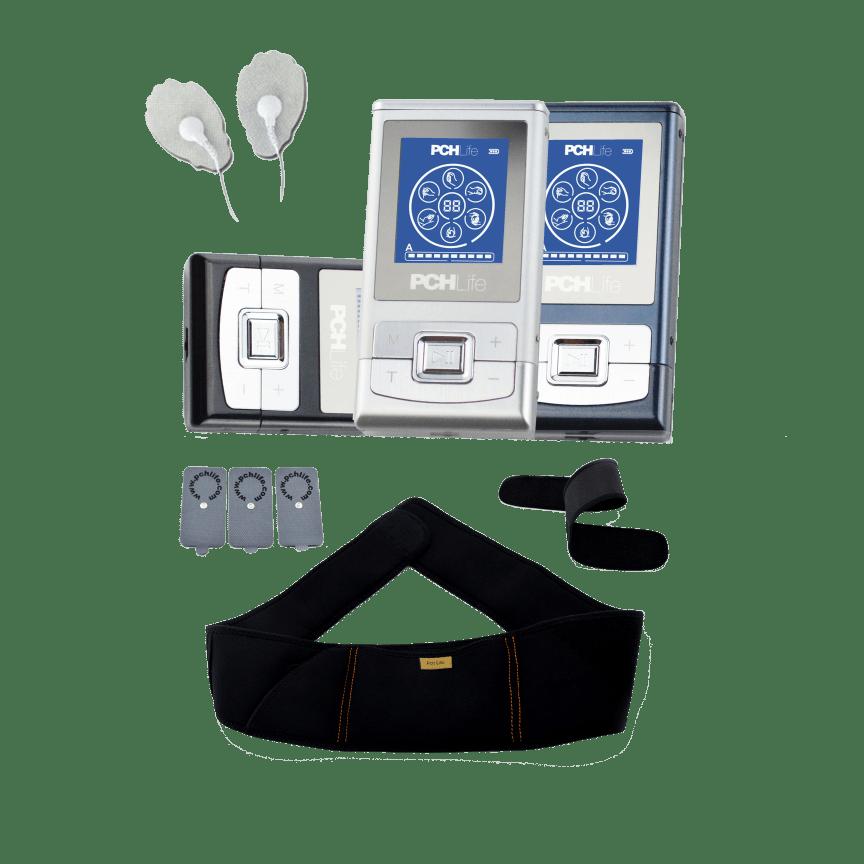Palm Nrg Full Body 8 Mode Digital Pulse Massager Wtih 2 Piece Belt