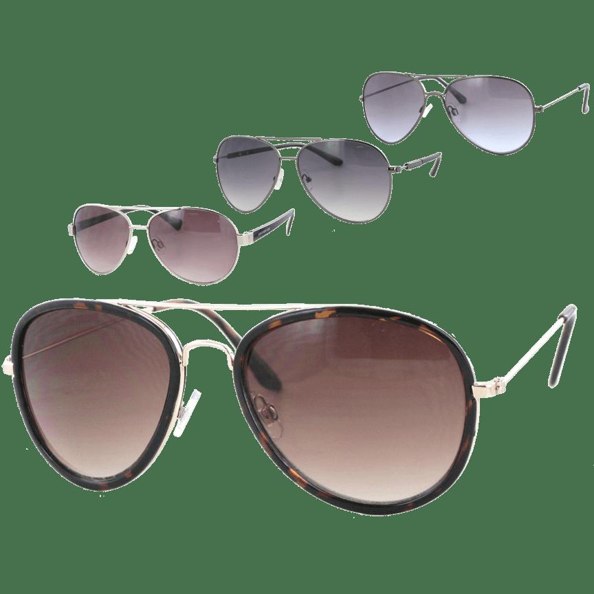 5c610dcec1e Kay Unger Women s Aviator Sunglasses