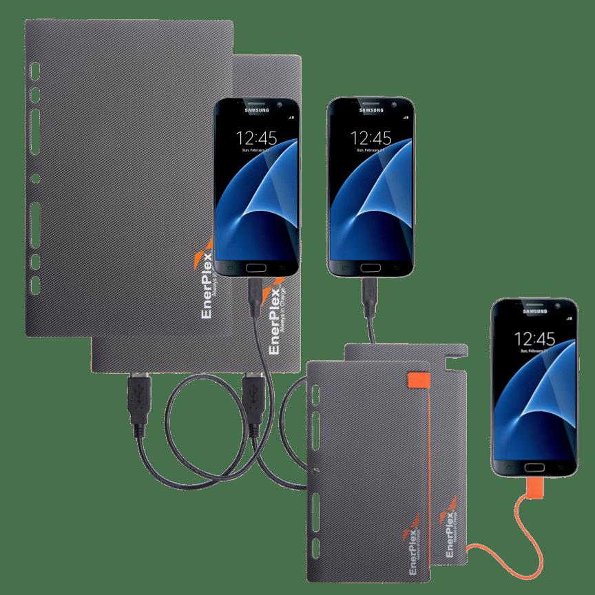 Palm Nrg Full Body 8 Mode Digital Pulse Massager With 2 Piece Belt