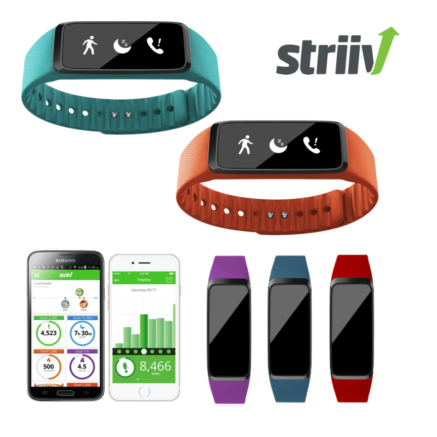 Striiv Fusion Activity Tracker And Smarch With 3 Bonus Bands