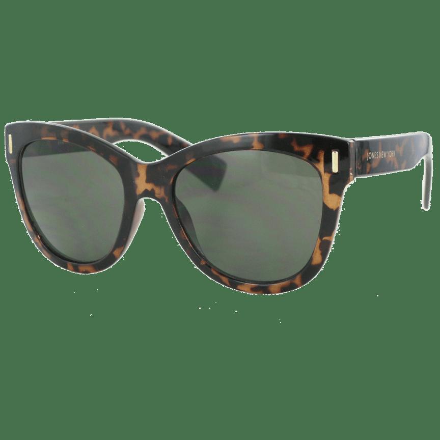 fee6db062fb Jones New York Chunky Retro Square Tortoise Sunglasses