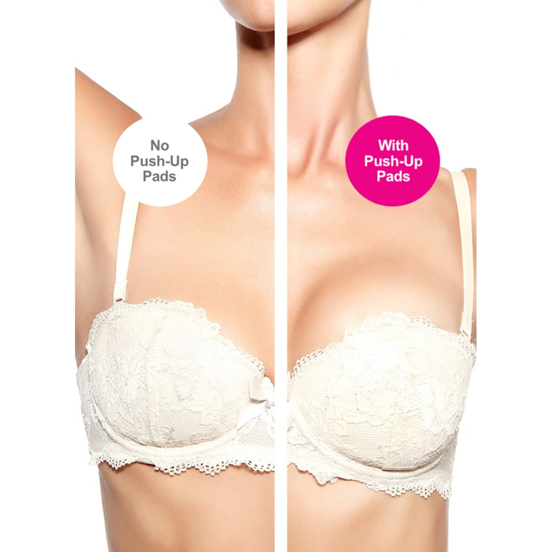 731a8f7808 Bra Society Silicone Pushup Inserts