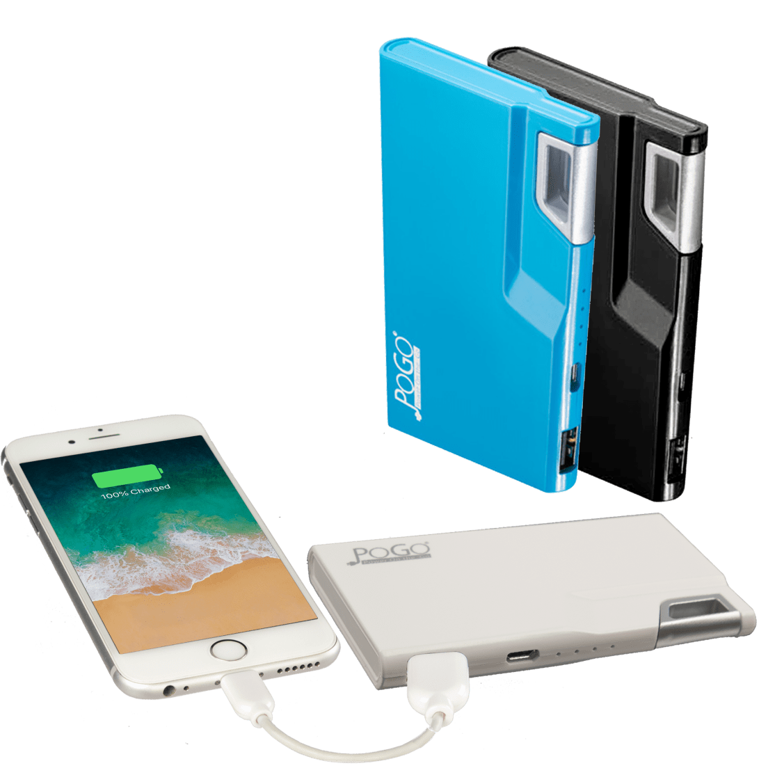 2800 Mah Clip On Power Bank By Pogo