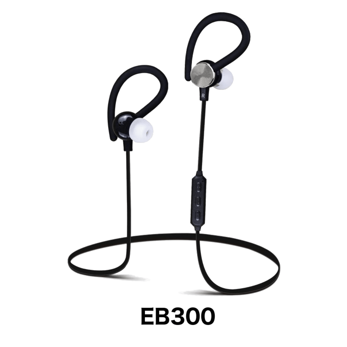 Bem Eb300 Bluetooth Earbuds With Ear Wrap Headset Musik Stereo Beats S450