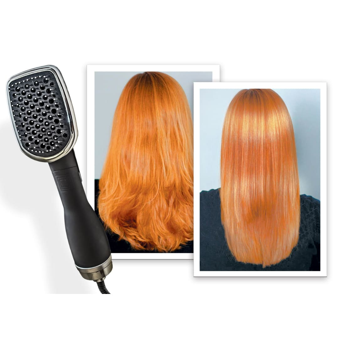 Procabello 2 In 1 Blower Brush Hair Dryer And Styler The Wet Tourmaline Blowout Small