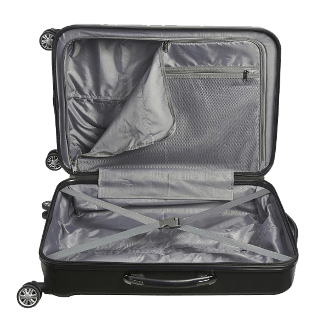 205dc2c104 FUL 3-Piece Hardside Luggage Set
