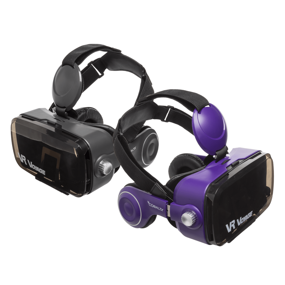 Vr Voyage 360 Virtual Reality Headset With Built In Headphones