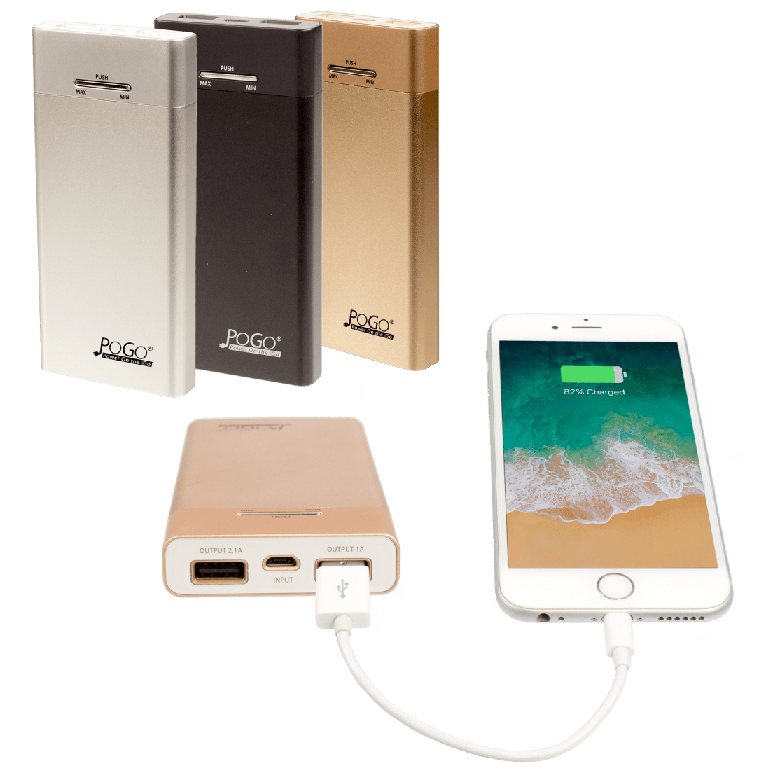 Pogo 10000 Mah Power Bank