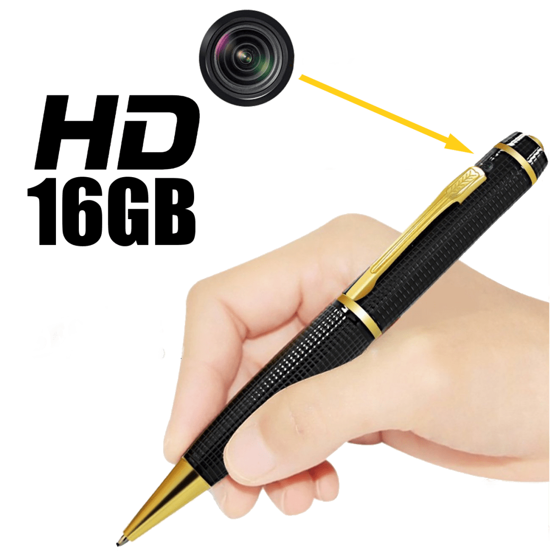 2b2e7848b900 Q-See 16GB HD Video Spy Pen with Elite Safety Software
