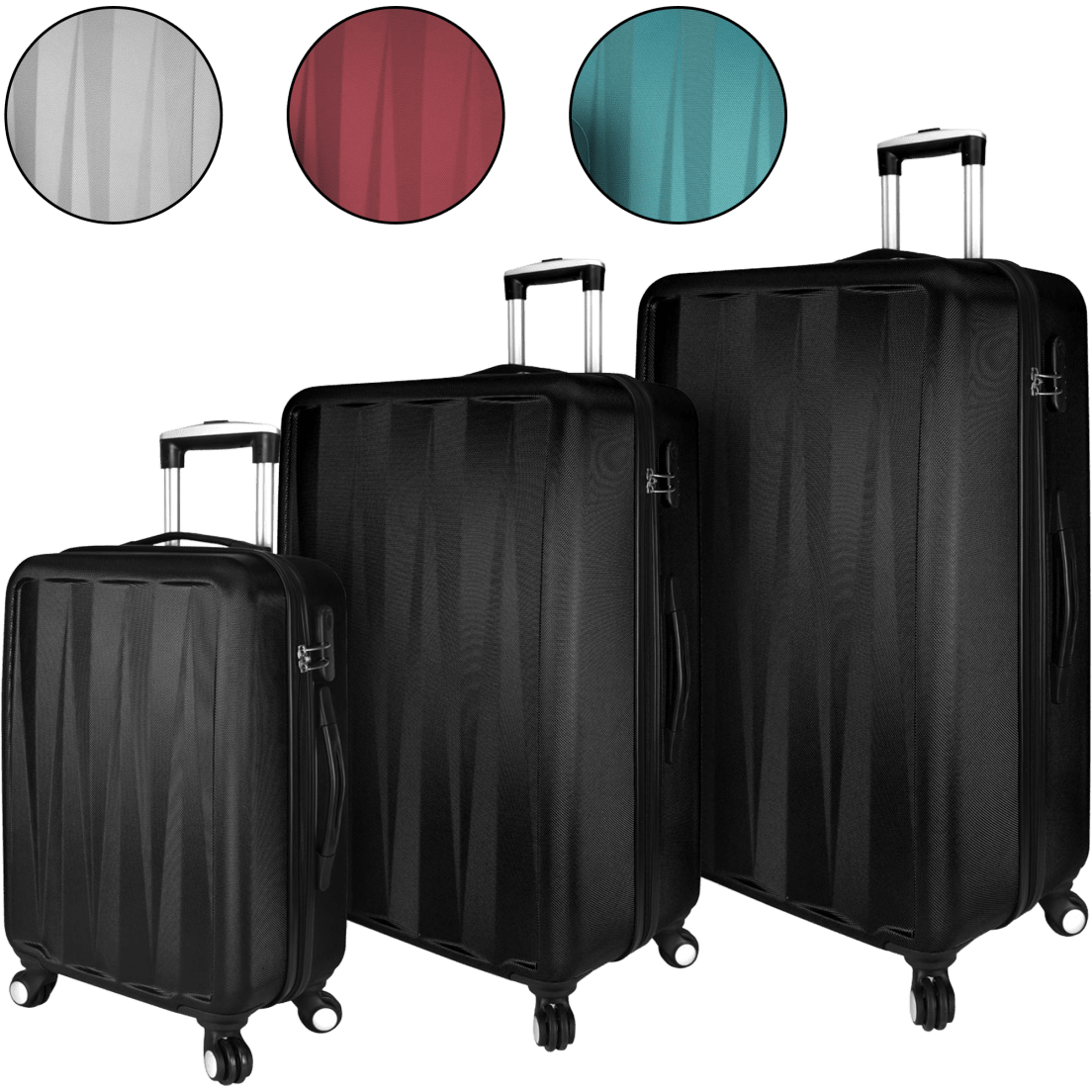 8e7703d0a504 3-Piece Verdugo Hardside Spinner Set by Elite Luggage