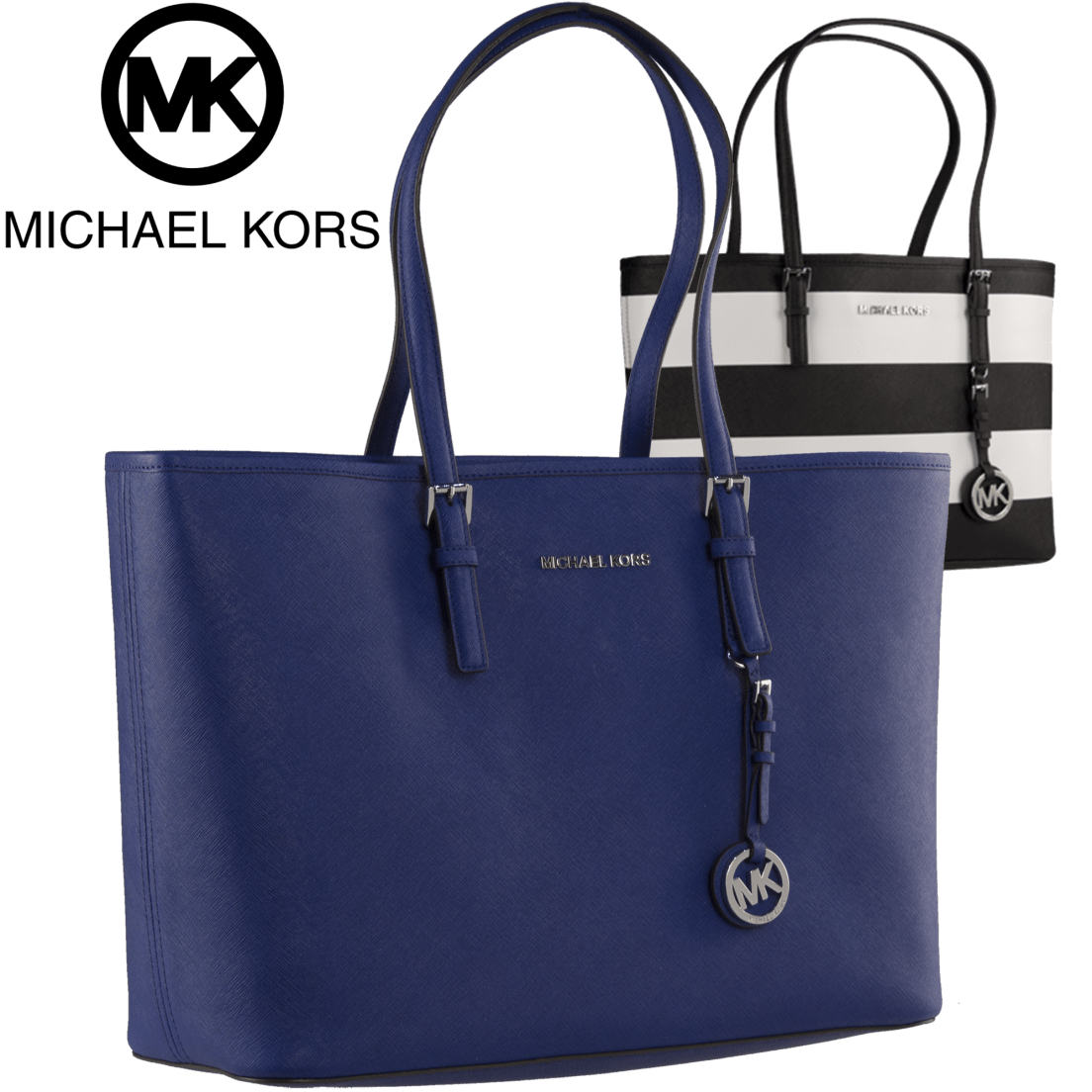 Lyst Michael Kors Jet Set Travel Saffiano Leather Top Zip Tote In 8c1ebc7bf455b