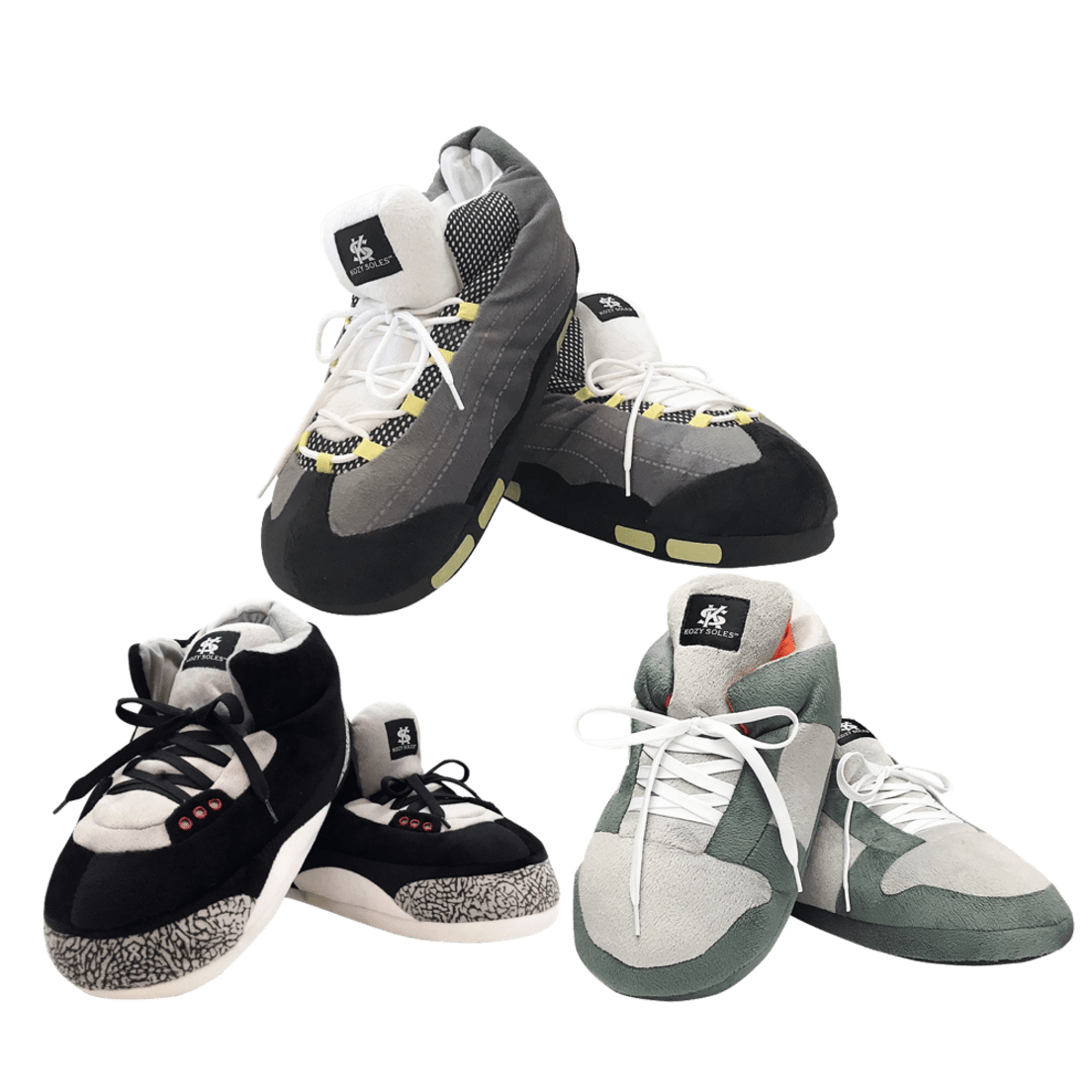 Kozy Soles High-Top Sneaker Slippers eb1b9167e