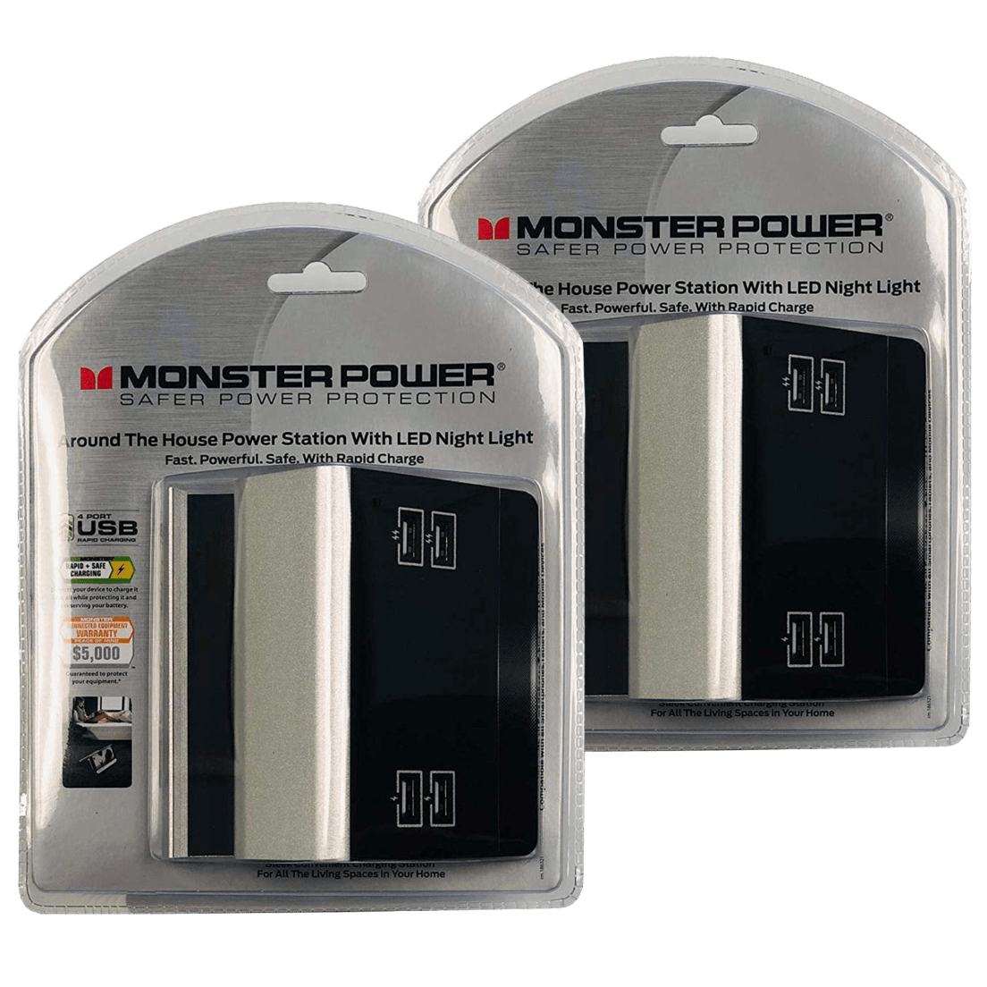 2 For Tuesday Monster Charging Stations With Four 48a Usb Ports