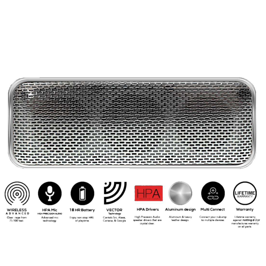 Fanstereo Nubump Bluetooth Speaker with Vector Voice Command Technology 65f4499a9d910