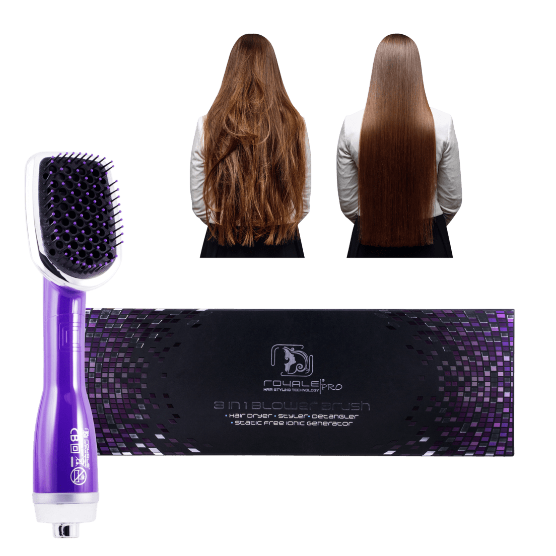Royale Blower Brush Hair Dryer Styler