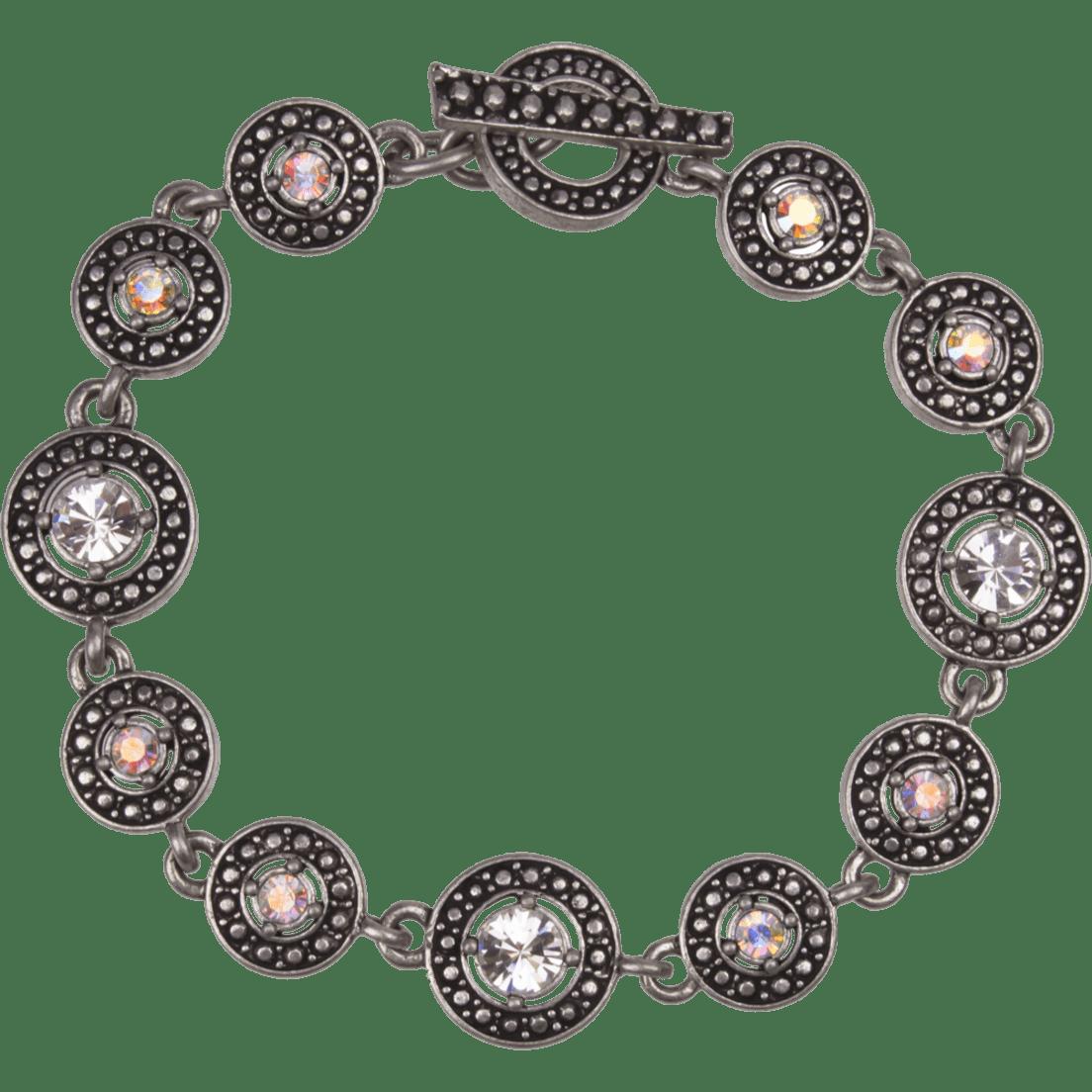 b04316bb7c596 Silver Circles Bracelet by Patricia Locke