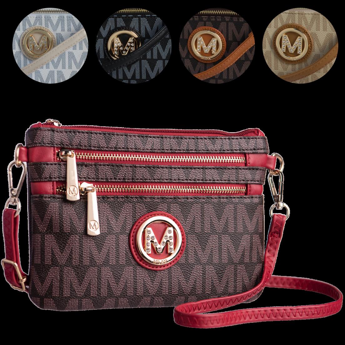 Milan Imports Crossbody-Wristlet Combo Handbag 1b45b314e8891