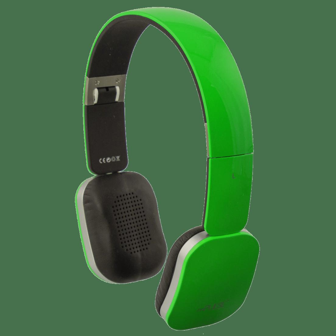 Mpulse Rock Bluetooth 40 Stereo Headphones Green Headset Musik Beats S450