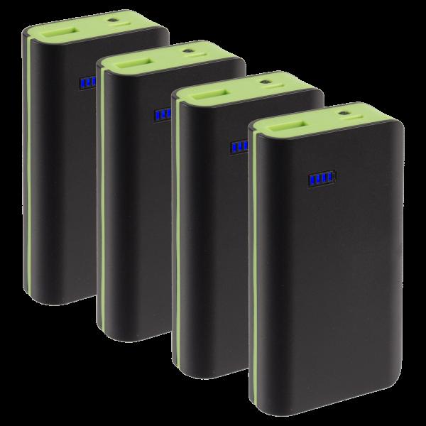 4-Pack: Neo Style 6000mAh Power Banks