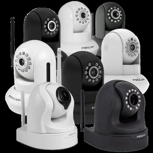 Foscam Pan/Tilt WiFi Cameras @ Meh $30-$70 - Deals