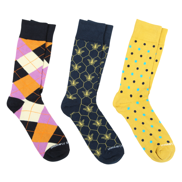 Unsimply Stitched 3-Pack Socks