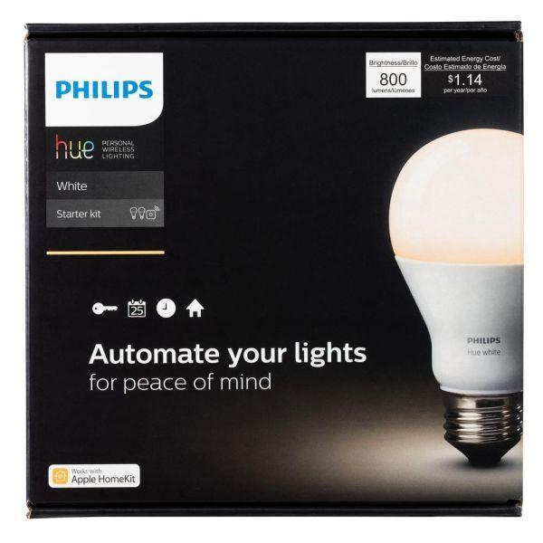 philips hue starter kit 2nd generation refurbished. Black Bedroom Furniture Sets. Home Design Ideas