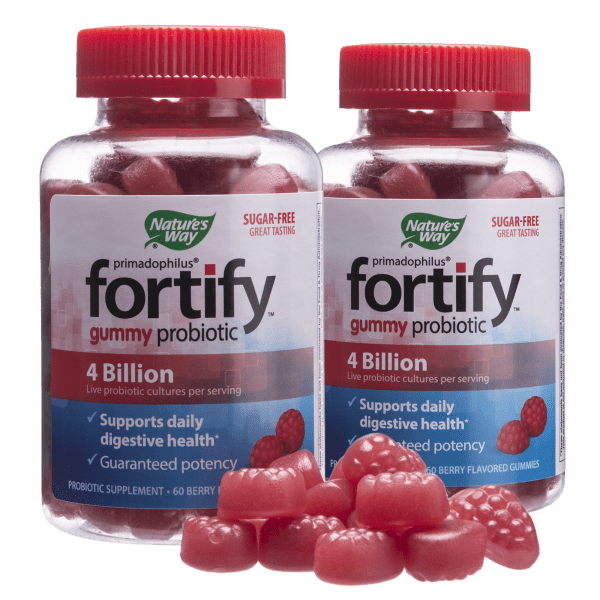 2-or-12-Pack: Nature's Way Fortify Gummy Probiotics