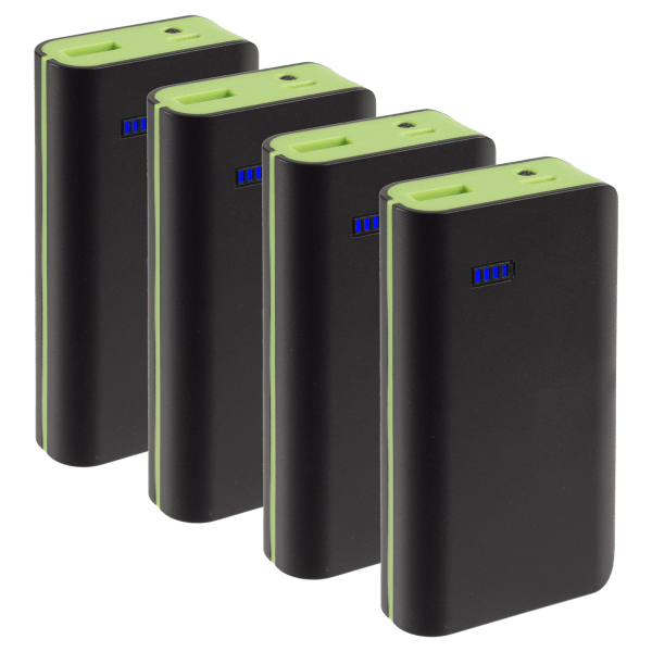 4-Pack: Neo Style 6000mAh Power Banks