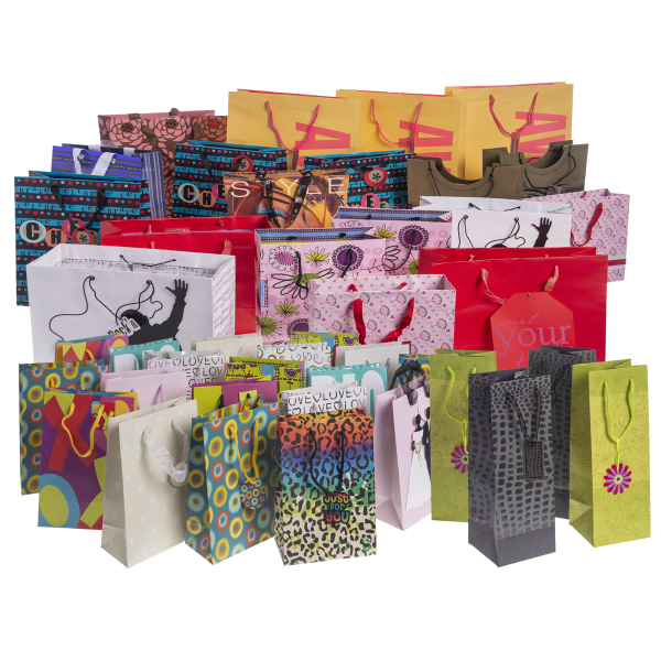 42-Pack Gift Bags