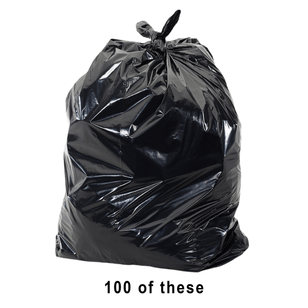 100-Pack: ToughBag 55-Gallon Trash Bags