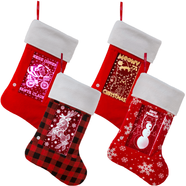 Pop Lights Color Changing Stockings by Igloo