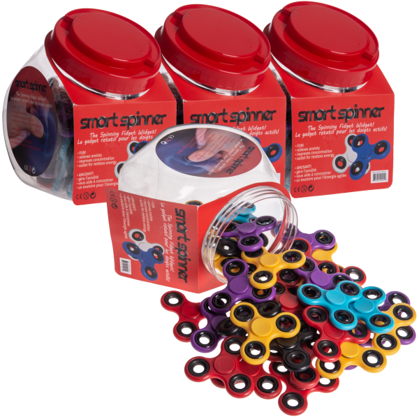 160-Pack Fidget Spinners (Standard or Printed)