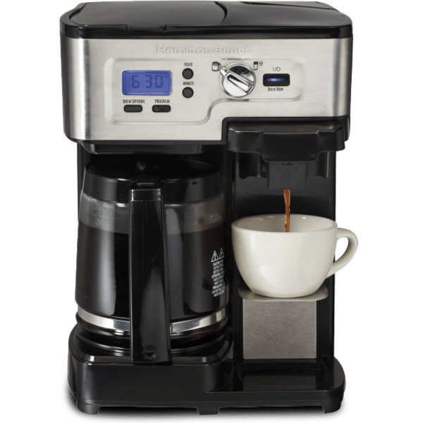 Hamilton Beach Flexbrew 2 Way Coffee Maker Refurbished