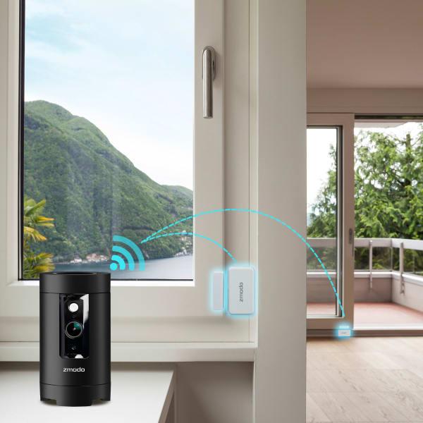 Zmodo Pivot 1080p 360 Degree Wifi Camera With Smarthub And
